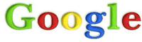 Originalus Google logo